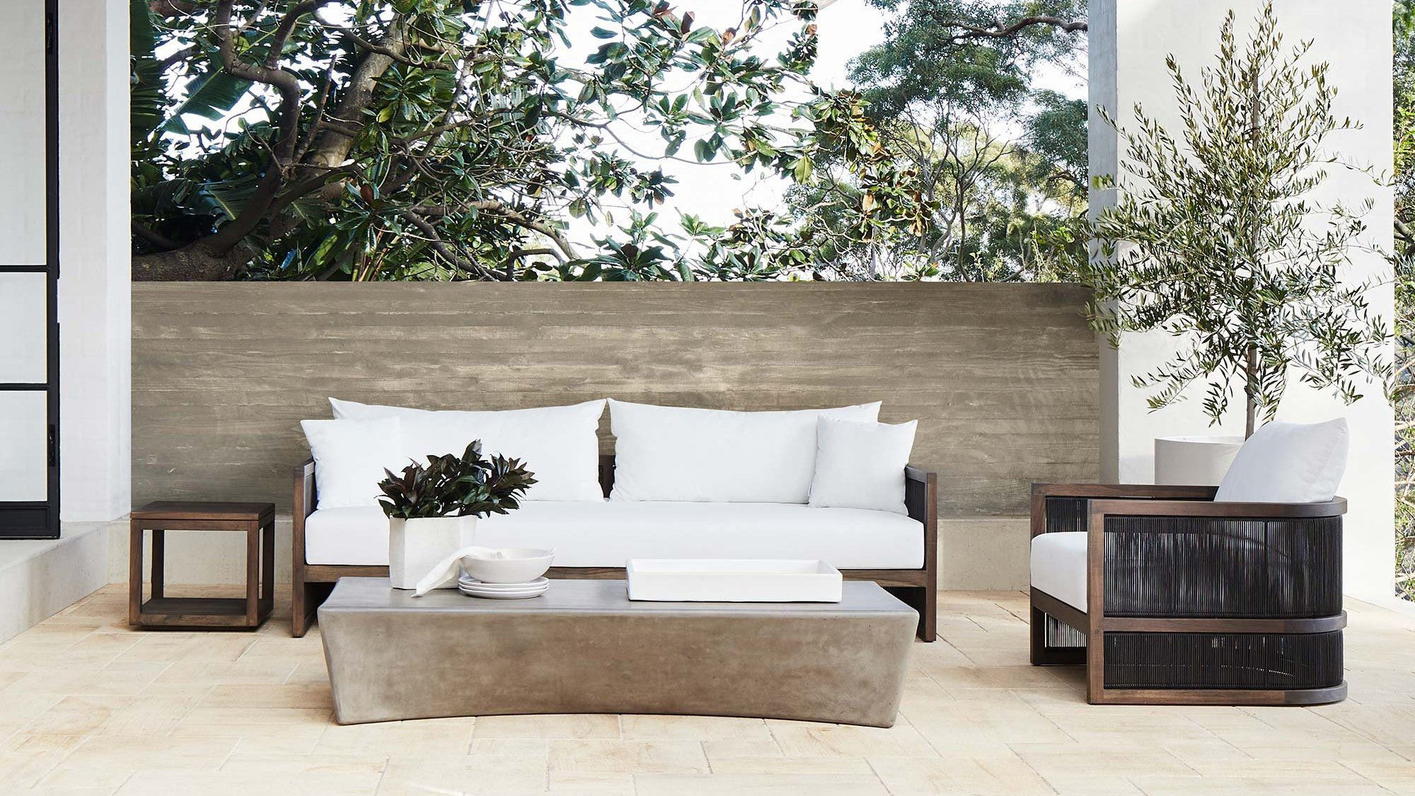 Simple life with modern furniture